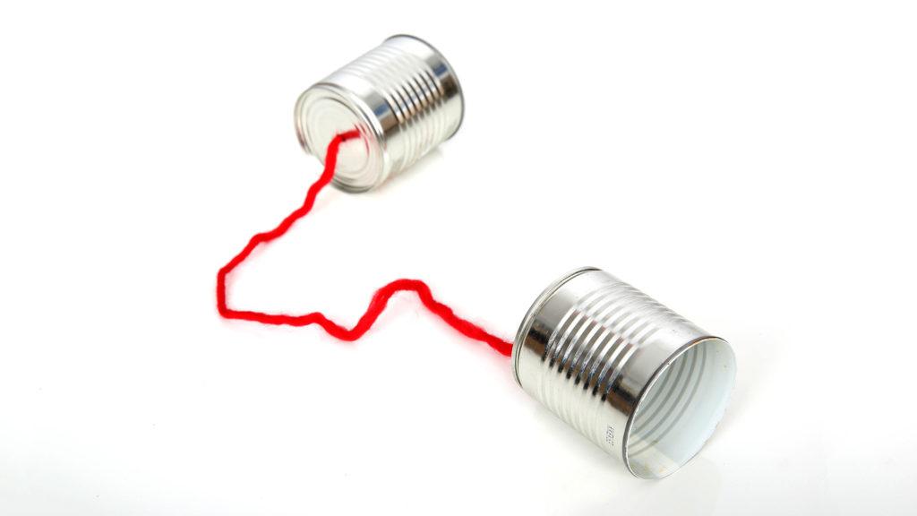 Dosentelefon: Kommunikation kann und muss einfach sein