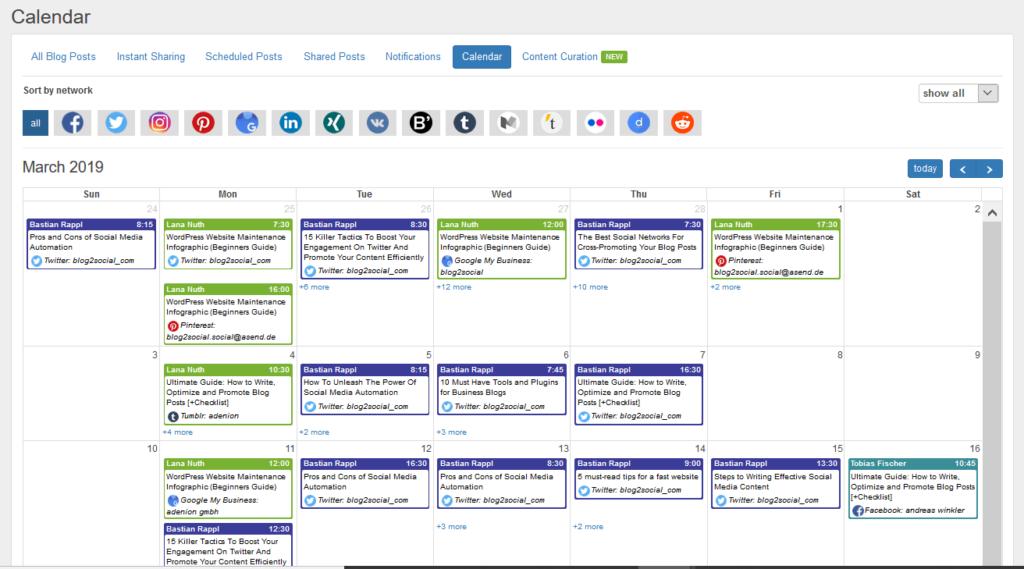 Blog2Social und WordPress bieten eine preiswerte Alternative unter den Content Marketing Tools.