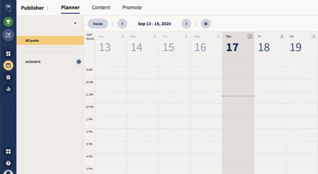 Hootsuite ist eher eine Social Media Management Plattform als ein Content Marketing Tool - aber auch dafür geeignet.