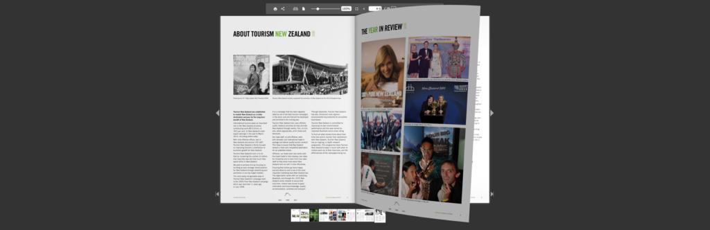 Blätterbares PDF mit Flowpaper erstellt