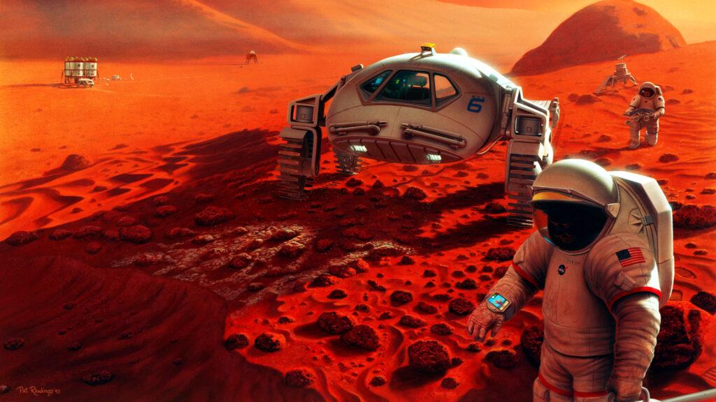 Menschen auf dem Mars: Wahrscheinlicher als digitale Messen / Events?