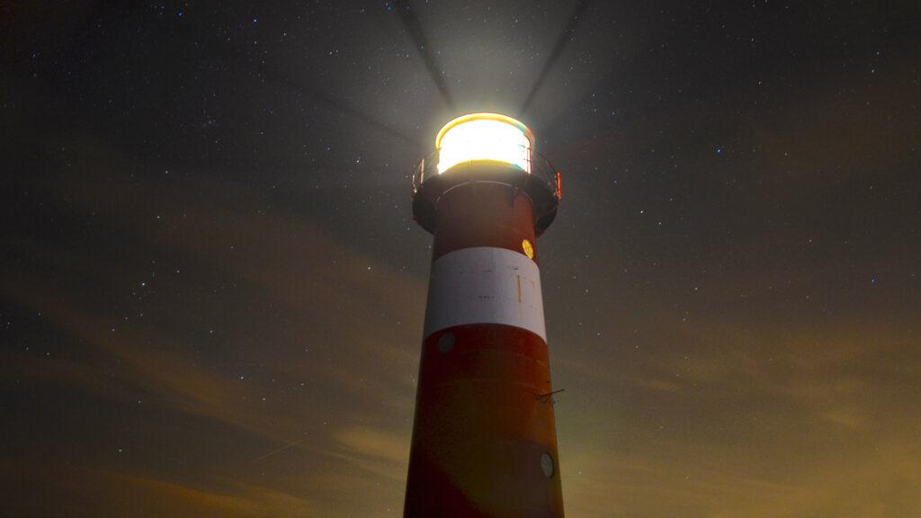 Wie bei einem Leuchtturm, dient ein Purpose zur Orientierung