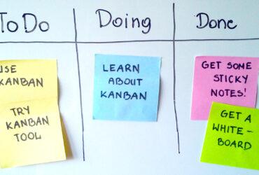 Agiles Marketing einführen: Starten Sie mit einem haptischen Kanban Board.