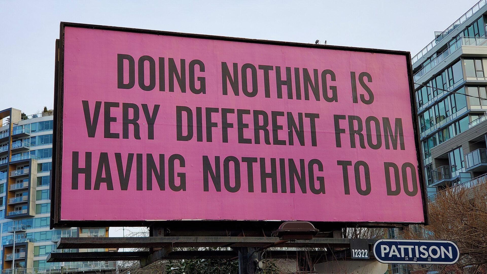 Eine Werbung muss nicht immer gleich eine Anzeige sein.